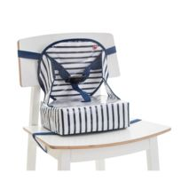 Btl Babytolove - Rehausseur Easy Up Blue Stripes - Baby To Love