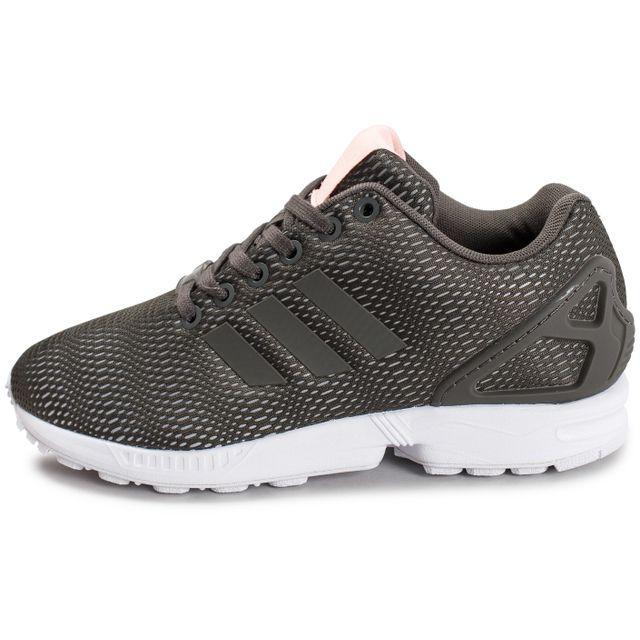 Adidas originals Zx Flux W Mesh Kaki Vert pas cher Achat
