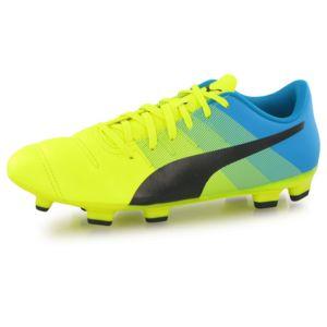 Puma EvoPower 4.3 SG Jaune - Chaussures Football Homme