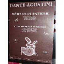 Agostini - Méthode de batterie - Vol.3 Etude technique supérieure