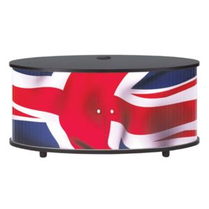 bonareva meuble tv london drapeau anglais noir pas cher achat vente meubles tv hi. Black Bedroom Furniture Sets. Home Design Ideas