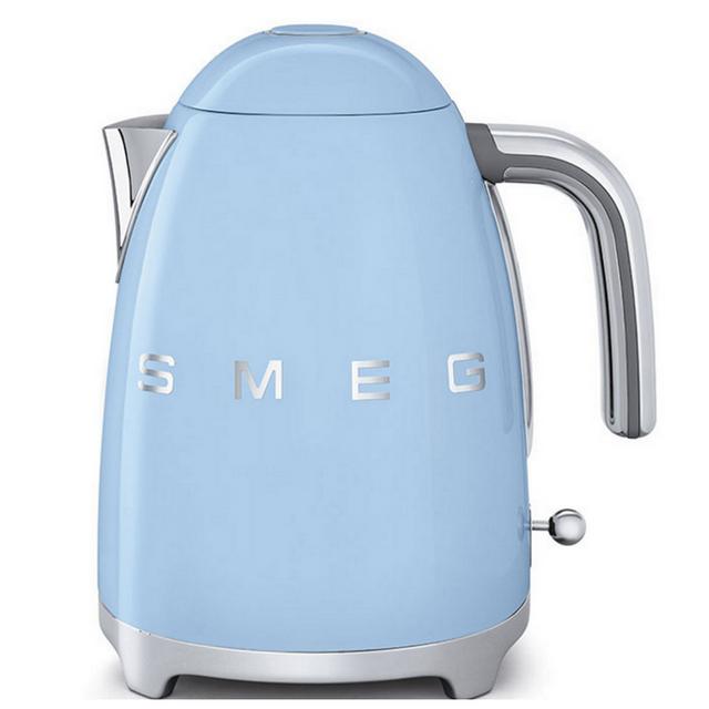 SMEG bouilloire sans fil 1,7l 2400w bleu azur - klf01pbeu