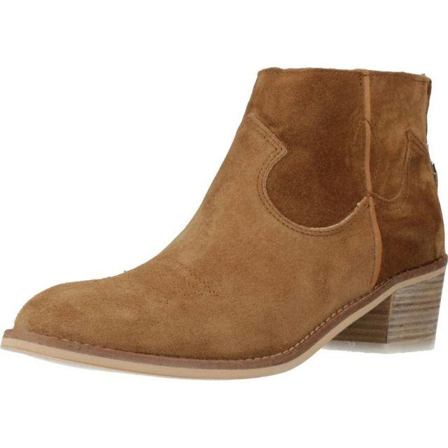 Alpe Boots, bottines et bottes femme 4011 81, Marron