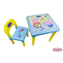 PEPPA PIG - Table d'activites + set crea
