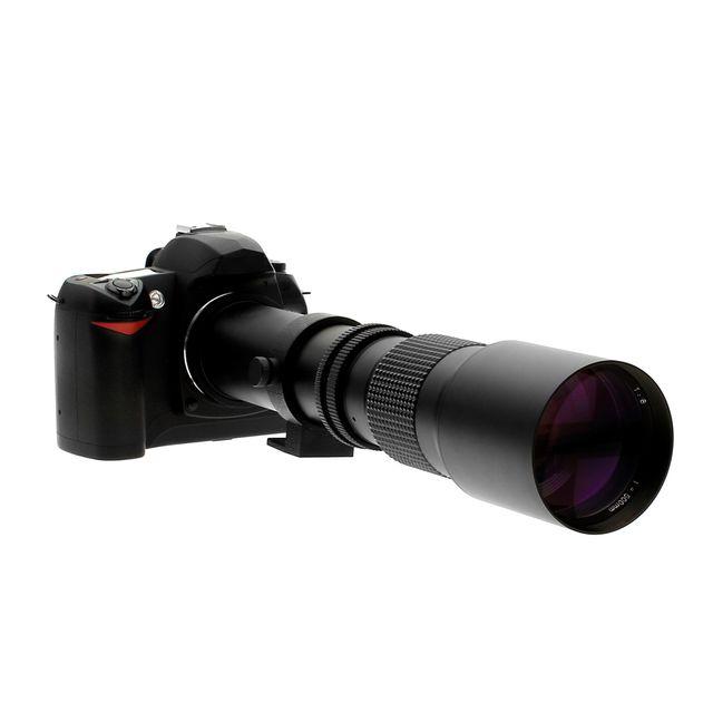 Oting Téléobjectif 500mm F 1:8 pour Nikon
