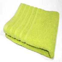 Decoline - Serviette de toilette 90 x 150 cm vert