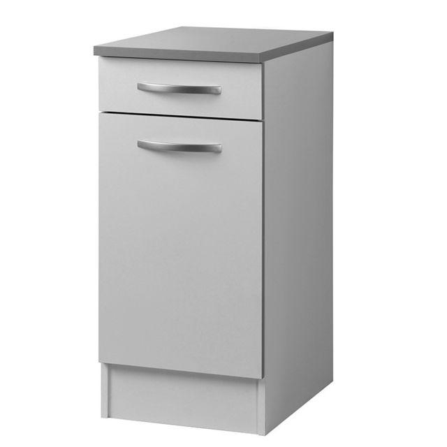 Paris prix meuble bas 40 cm smarty blanc sebpeche31 for Meubles paris