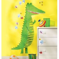 Wallies - Toise Crocodile Sticker Mural