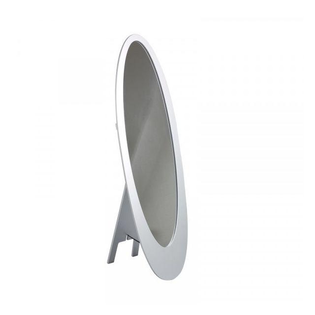 Dansmamaison Miroir Psyché Gris - Bellut - L 48 x l 50 x H 154 cm