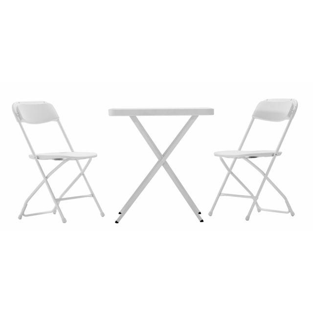 en r table avec NEWSTORM deux de sine chaises et Ensemble y0Pm8ONwvn