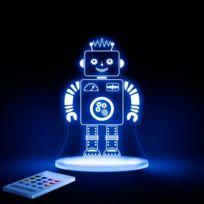Aloka - Robot - Lampe-veilleuse Led H17cm