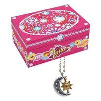 SOY LUNA - Boite à bijoux + Collier avec Pendentif de Luna - YLU50