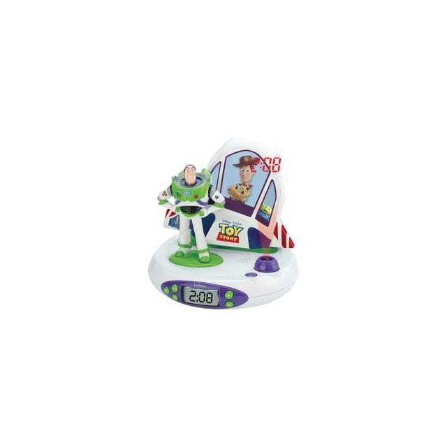 Lexibook Radio réveil projecteur - Disney Toy Story