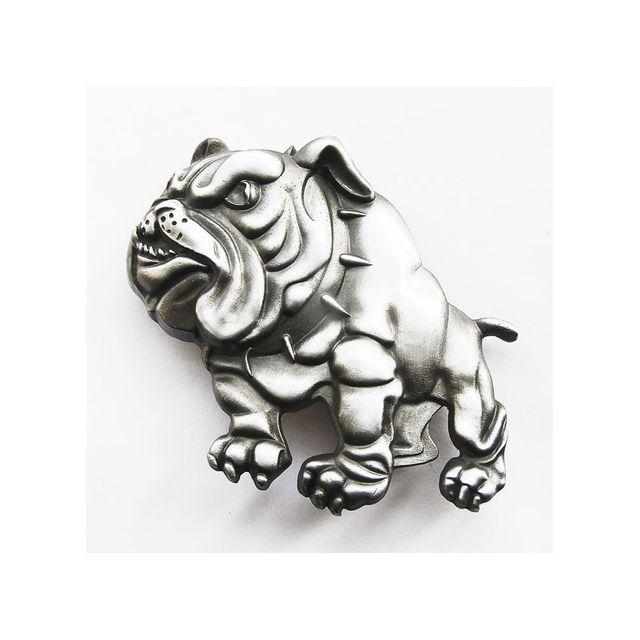 Universel - Boucle de ceinture bulldog chien pour homme femme rocker ... 3cc3d3fc53f