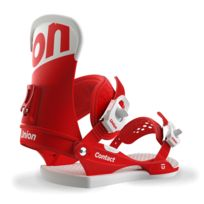 Union - Fixations De Snowboard Homme Contact Red