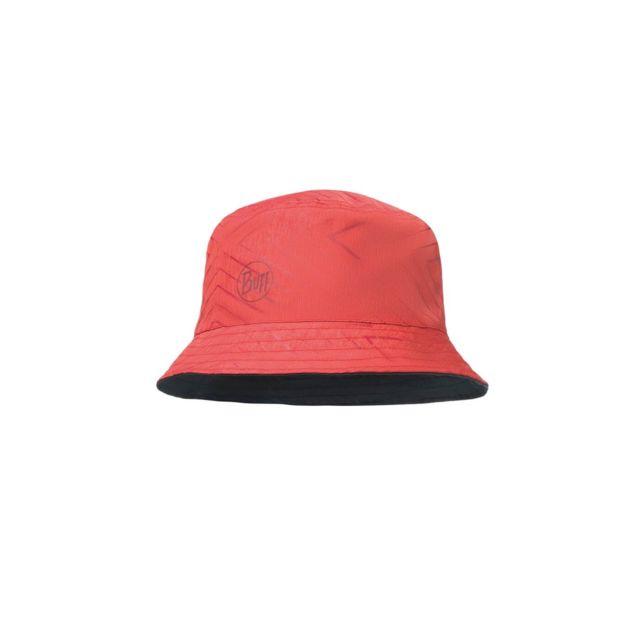 cd795cbb655 Buff - Bob Travel Bucket Hat Collage Red Black - pas cher Achat   Vente  Entretien des chaussures - RueDuCommerce