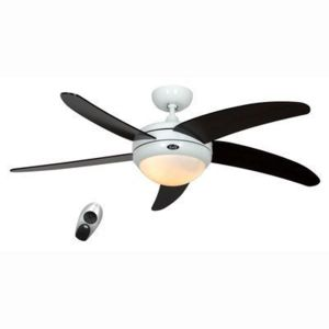 boutica design ventilateur de plafond elica 132cm blanc weng casafan pas cher achat. Black Bedroom Furniture Sets. Home Design Ideas