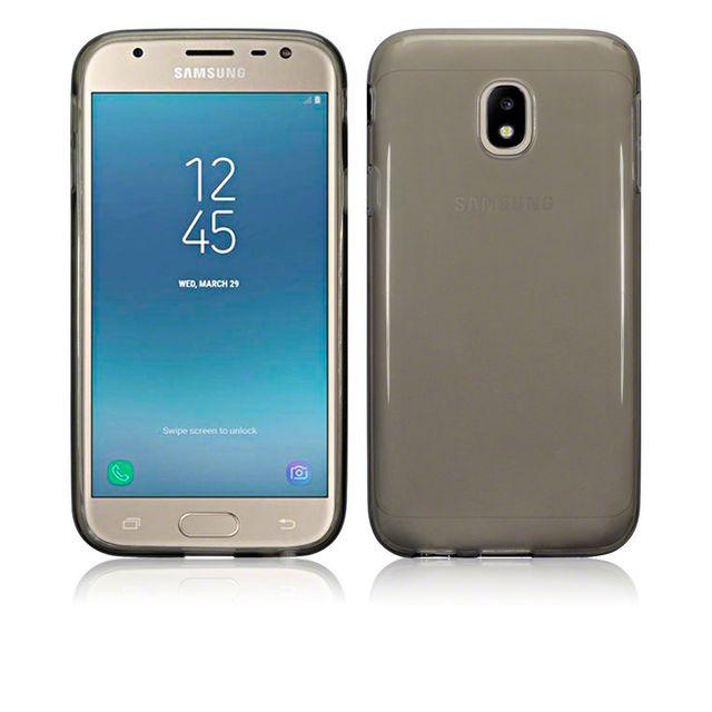 Lapinette - Coque Gel Pour Samsung Galaxy J7 2017 + Film - Gris