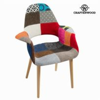 Craftenwood - Chaise patchwork pp by