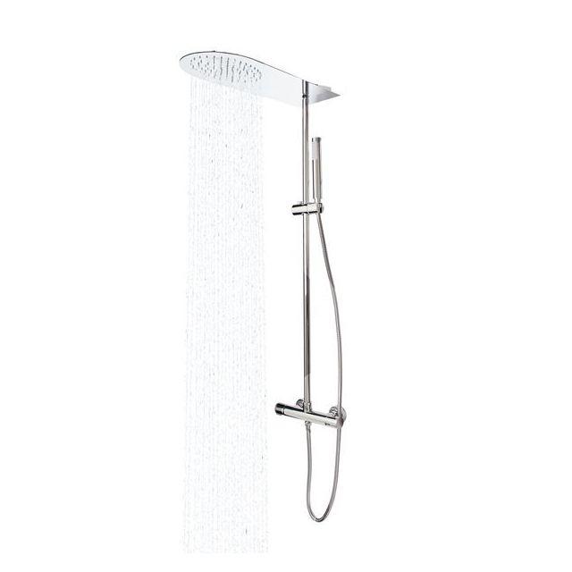 Colonne de douche avec mitigeur thermostatique pas cher - Colonne hydromassante pas cher ...