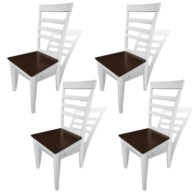 Jeanne lot de 2 chaises de cuisine de salle a manger en for Chaises jeanne