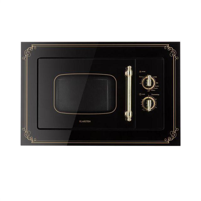klarstein victoria 20 einbau mikrowelle 20 l 800 w grill 1000 w schwarz achat four micro onde. Black Bedroom Furniture Sets. Home Design Ideas