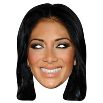 Mask-arade - Masque en Carton-Nicole Scherzinger
