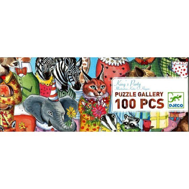 DJECO Puzzle 100 pièces - Gallery : Fête du roi
