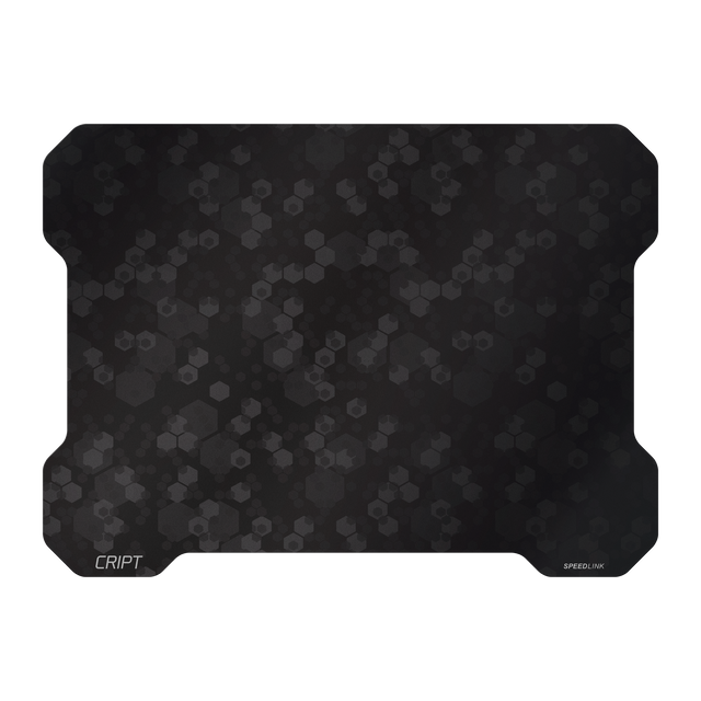 SPEEDLINK CRIPT - Tapis de souris ultra-fin Accédez au zénith du gaming ! Le tapis de souris ultra-plat CRIPT comblera les adeptes d'un style de jeu rapide et énergique.