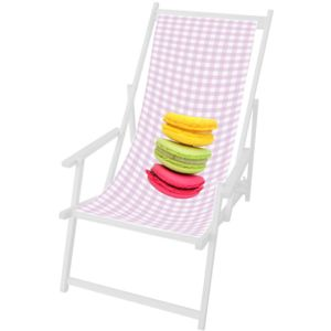 house of kids toile rose macarons en polyester pour. Black Bedroom Furniture Sets. Home Design Ideas