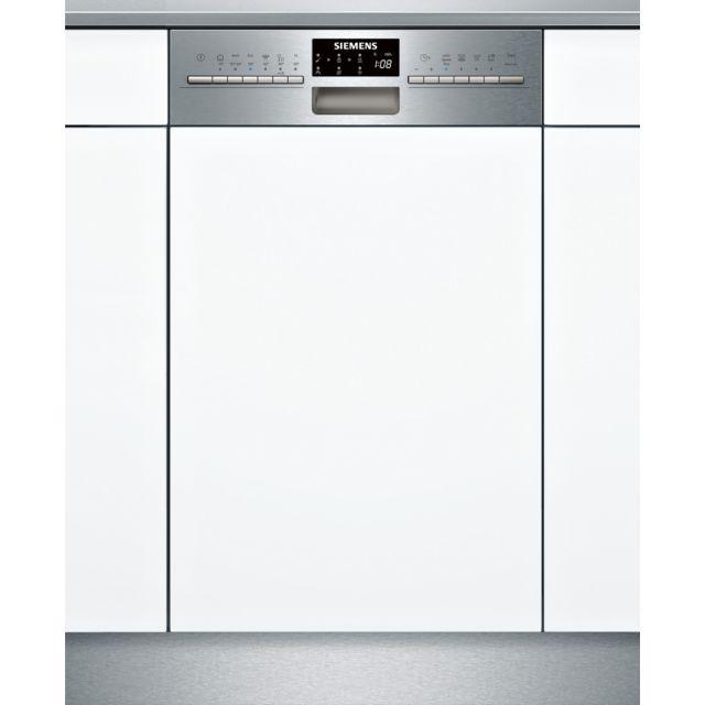 SIEMENS lave-vaisselle 45cm 10c 44db a++ intégrable avec bandeau inox - sr556s00te