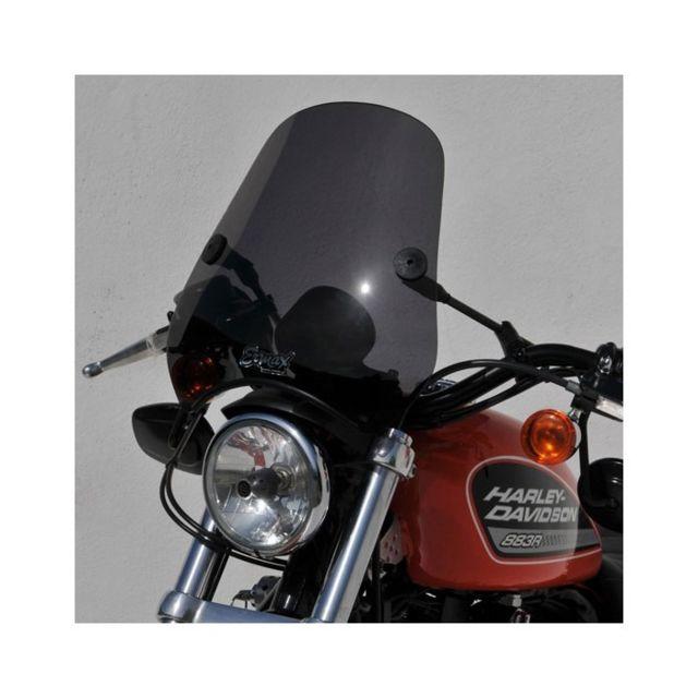 ermax pare brise bulle universel mini racer pour moto harley davidson sportster 883 r 1200. Black Bedroom Furniture Sets. Home Design Ideas