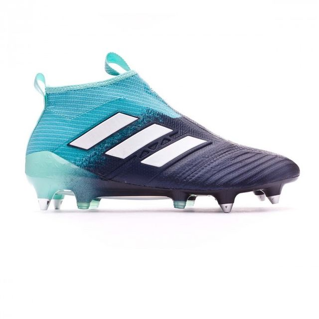 best loved 82679 24b82 Adidas - Chaussure de football Ace 17+ Purecontrol Sg Energy agua-White-Legend  ink Taille 41 - pas cher Achat  Vente Chaussures foot - RueDuCommerce