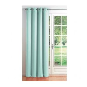 marque generique rideau occultant 140 x h260 cm cocoon bleu ciel pas cher achat vente. Black Bedroom Furniture Sets. Home Design Ideas