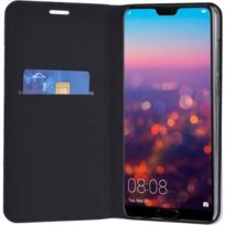 Huawei P20 P20 Lite P20 Pro Portable Étui Portefeuille Cuir Pu Étui Noir Dependable Performance