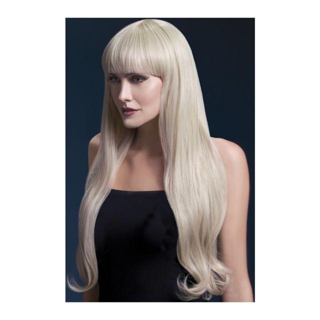 Perruque long cheveux naturel blonde avec