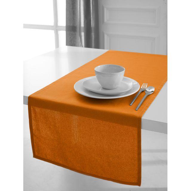 Today Chemin de table coton Ceremony 50 x 150