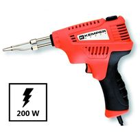 Kemper - Pistolet à souder 200W - 230 v Malette professionnelle