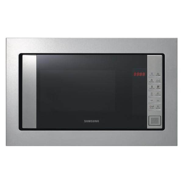 Samsung micro-ondes encastrable 23l 800w inox - fw87sst