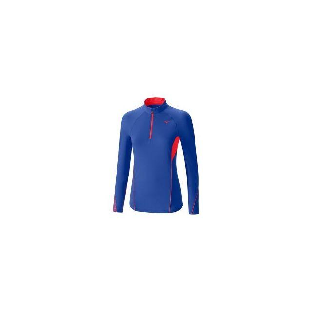 Mizuno Tee shirt Warmalite Phenix Hz manche longue bleu