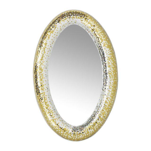 Karedesign Miroir Mosaik Glamour Kare Design