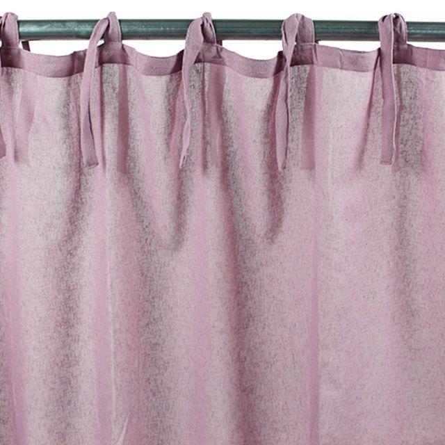 mon beau tapis voilage romance polyester 110x250 parme pas cher achat vente voilage. Black Bedroom Furniture Sets. Home Design Ideas