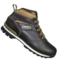 Timberland - Boots - Chaussures Montantes - Homme Splitrock 2 Hiker Cuir - Marron Foncé