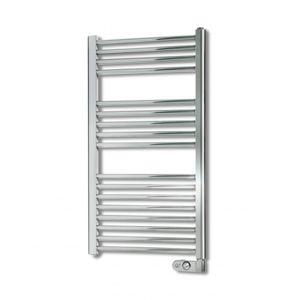 Amsta radiateur s che serviettes chrom nf 500 w pas - Seche serviette electrique chrome pas cher ...