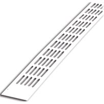 Renson S.A. - Grille D'AERATION Aluminium Plate Renson - 488/1 - Finition:Blanc