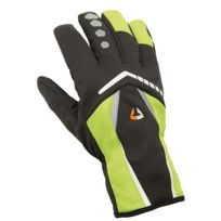 Briko - Wind Out Thinsulate Bike Glove Noirs Et Verts Gants vélo hiver