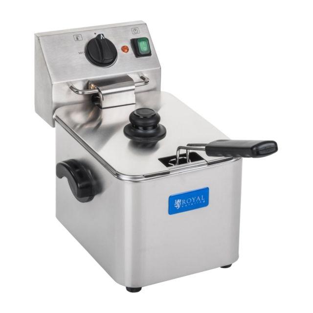 Autre Friteuse acier inox 1 bac 8 litres cuve amovible thermostat Ego professionnelle 3614006