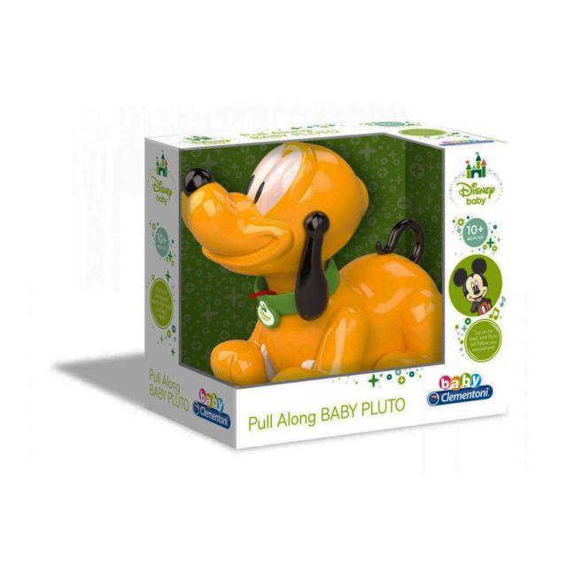 Clementoni Jouet à tirer : Baby Pluto te suit partout