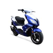 Scooter 50cc 2T - Fusion 50 Bleu