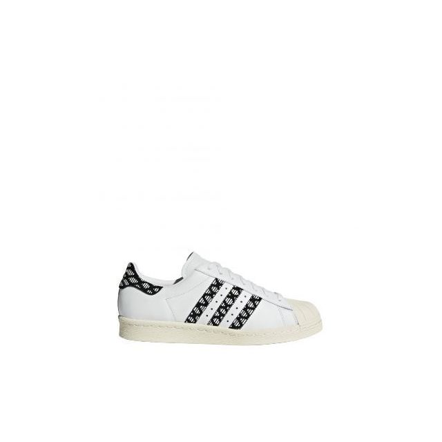 Adidas - Superstar 80s W - By9074 - Age - Adulte, Couleur - Blanc,
